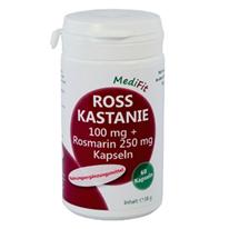 Rosskastanie 100 mg + Rosmarin 250 mg Kapseln