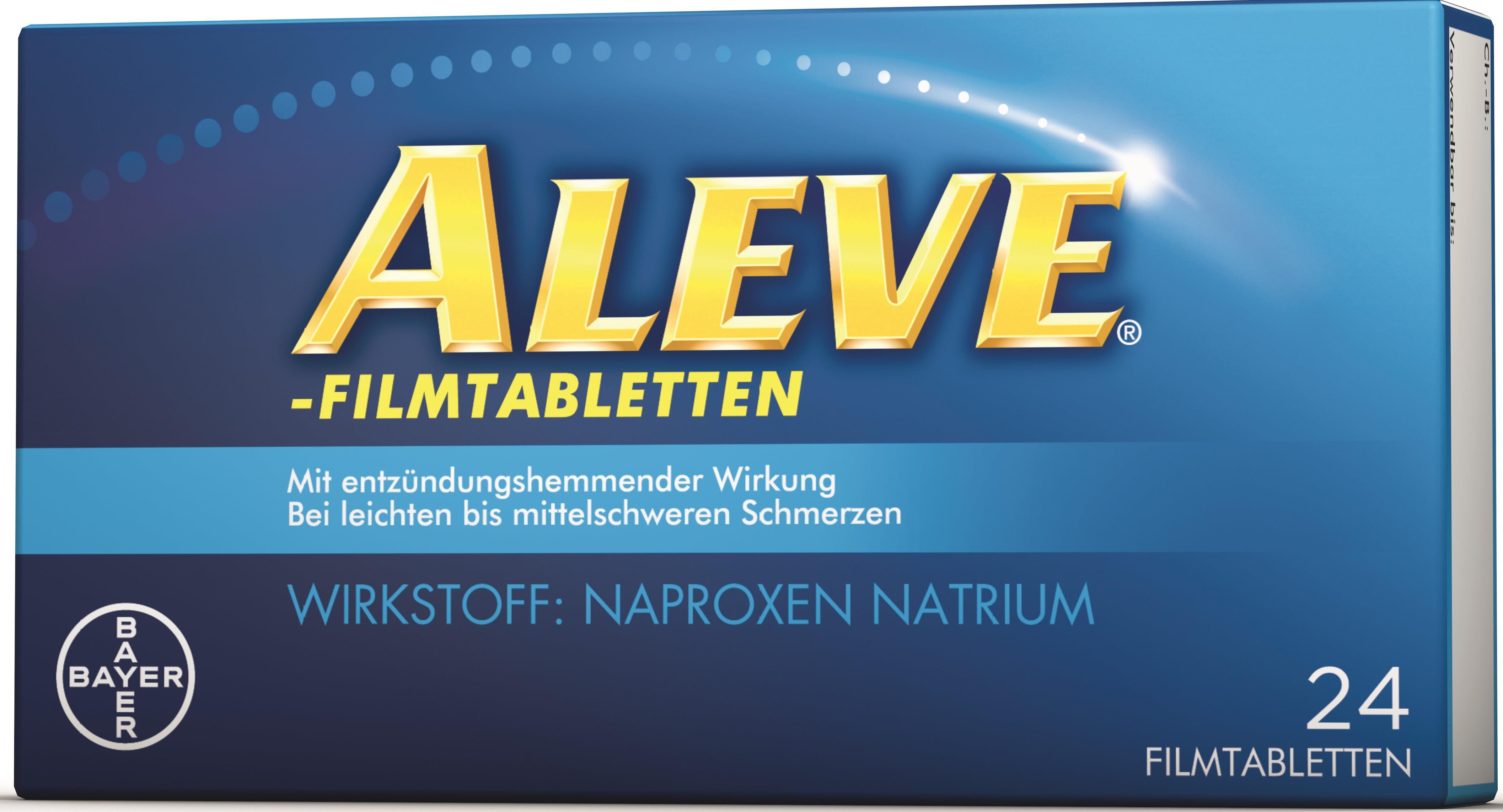 Aleve - Filmtabletten