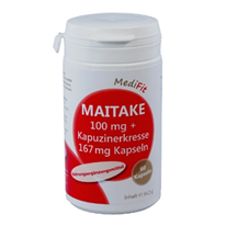 Maitake 100 mg + Kapuzinerkresse 167 mg Kapseln