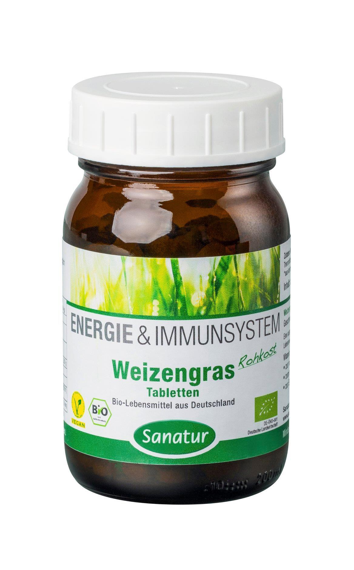 Sanatur Weizen-Gras Tabletten BIO