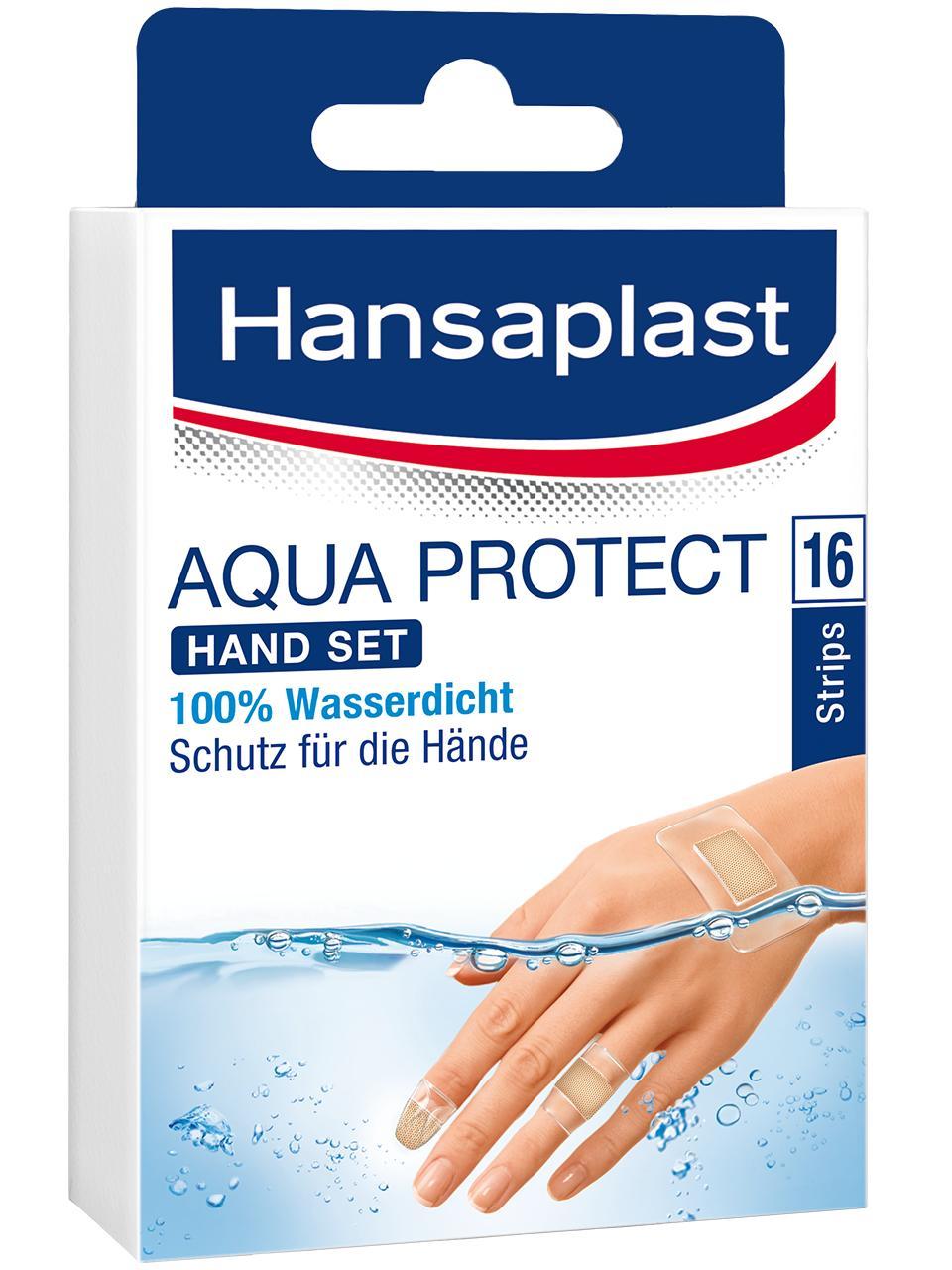 Hansaplast Aqua Protect Hand Set.