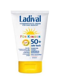 LADIVAL® Kinder Sonnenschutz Creme für das Gesicht LSF 50+