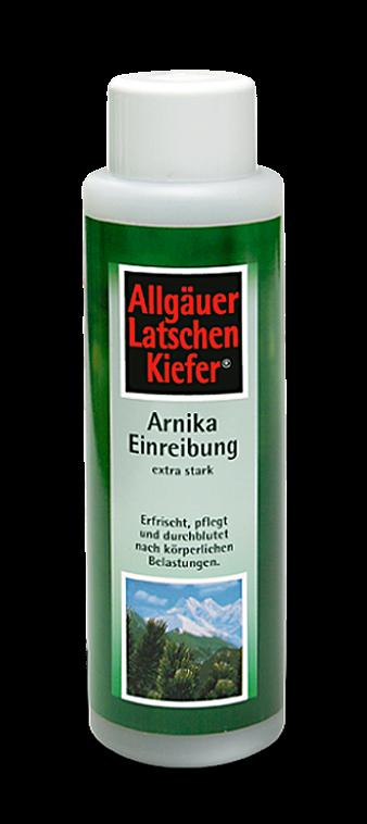 Arnika Einreibung Allgäuer Latschenkiefer extra stark 100ml Pump