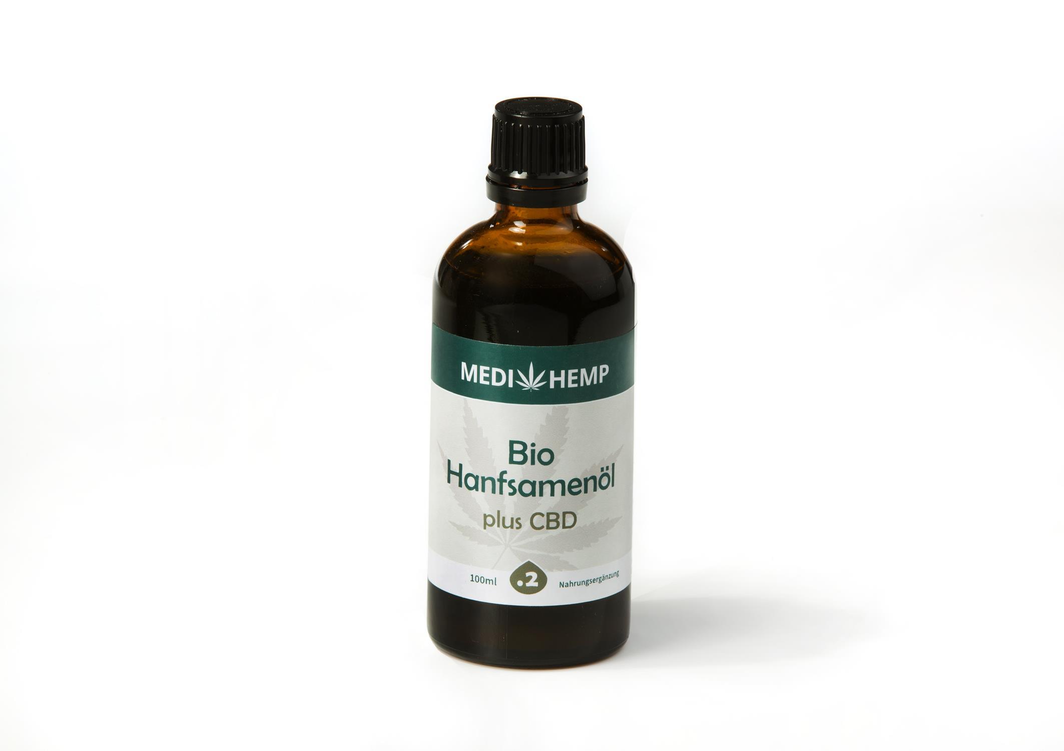Hanfsameöl + CBD Bio