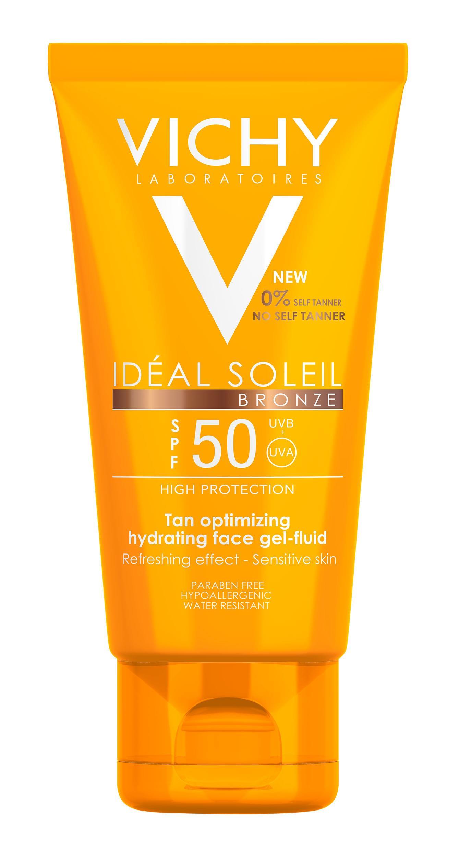 VICHY Ideal Soleil Bronze Gesicht LSF 50