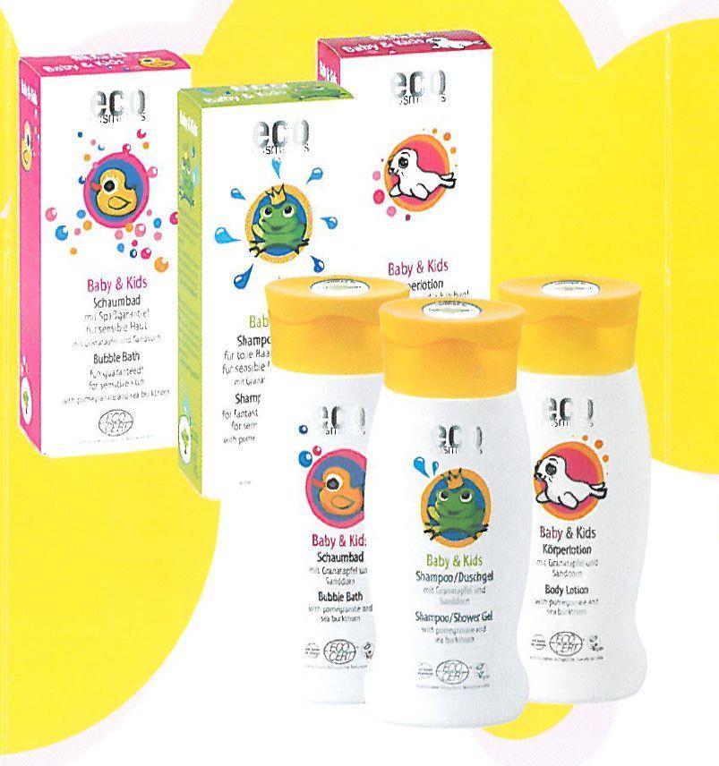 Eco Cosmetics Baby & Kids Babyschaumbad 200ml
