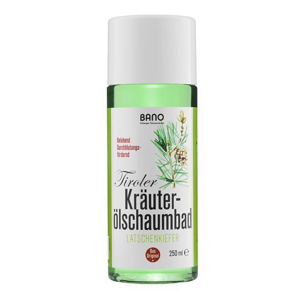 BANO Tiroler Latschenkiefer Kräuterölschaumbad