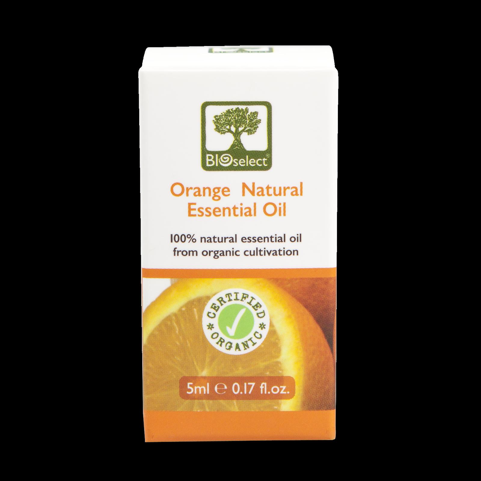 Bioselect Orange Natural Essential Oil Certified Organic