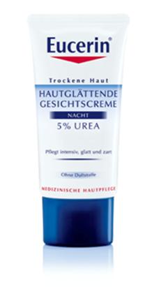 Eucerin Hautglättende Gesichtscreme 5% Urea Nacht