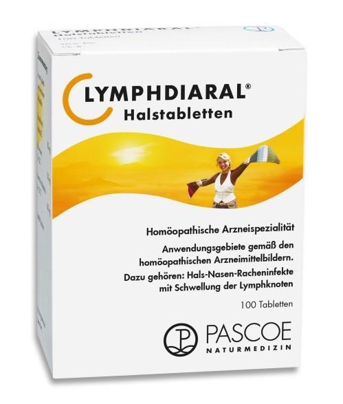Lymphdiaral - Halstabletten