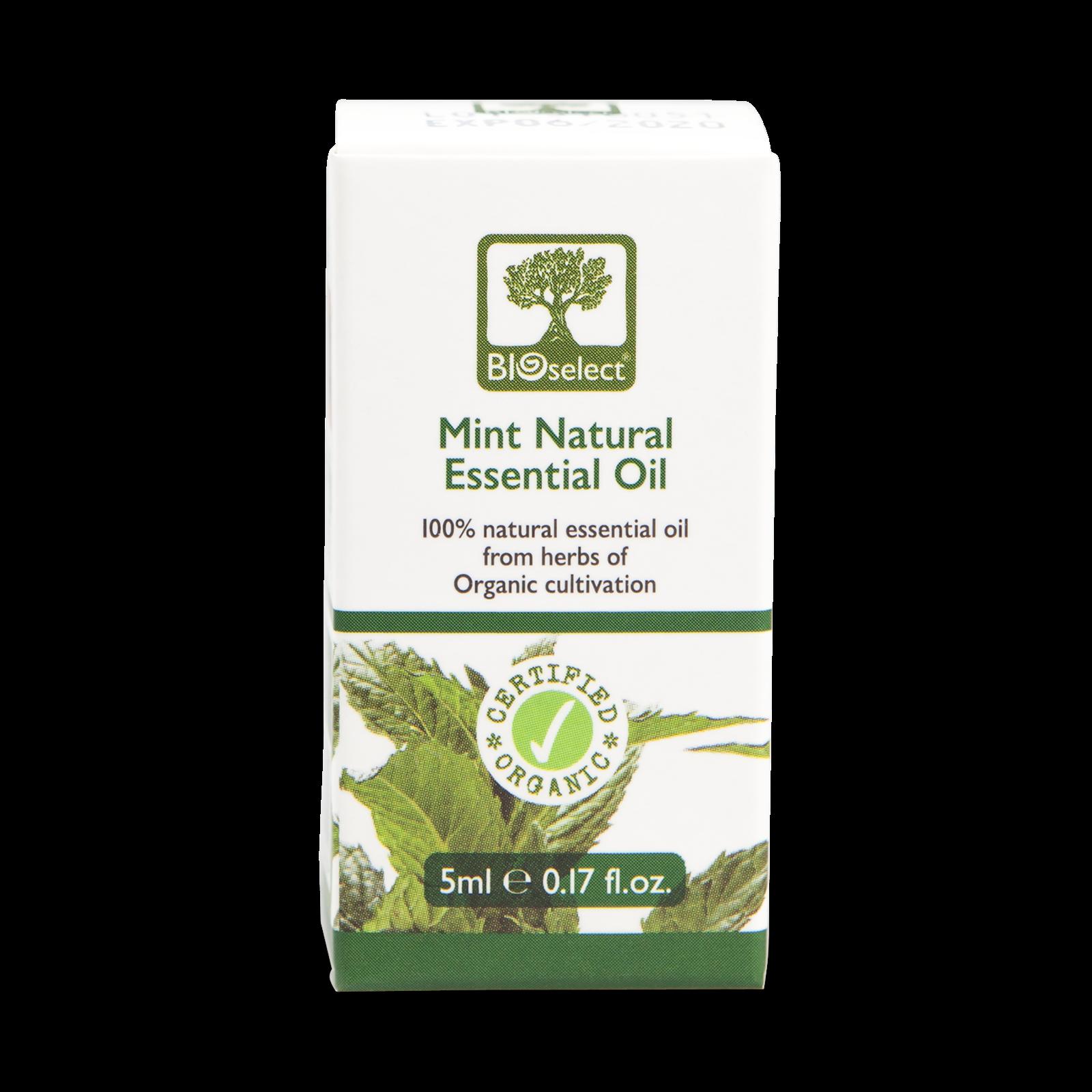 Bioselect Mint Natural Essential Oil Certified Organic