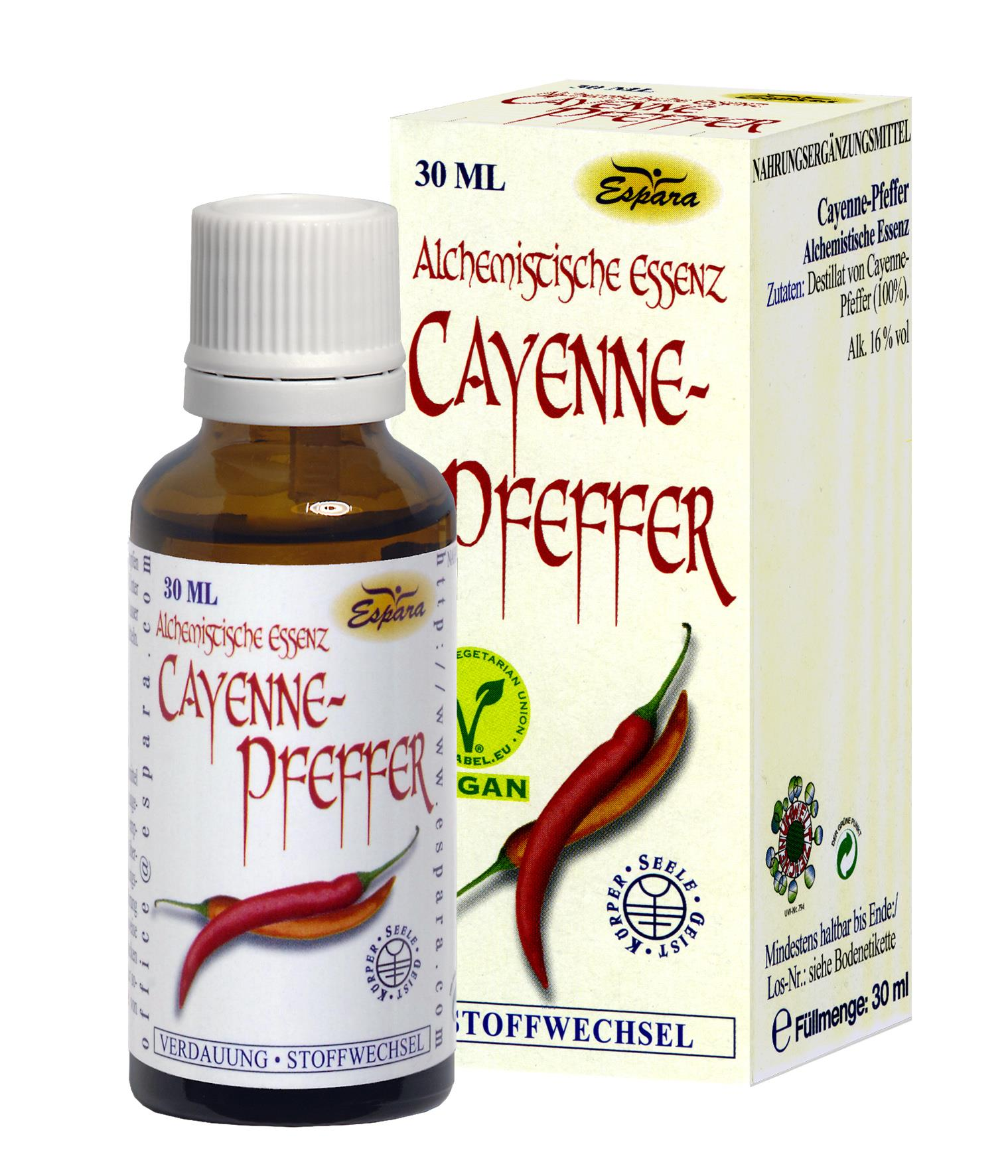 Espara Cayenne-Pfeffer Alchemistische Essenz