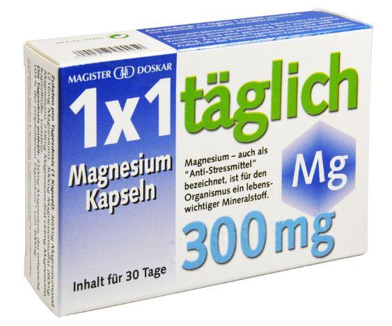 Doskar Magnesium 300mg 1x1 30 Kapseln