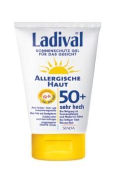 LADIVAL® allergische Haut Sonnenschutz Gel für das Gesicht LSF 50+