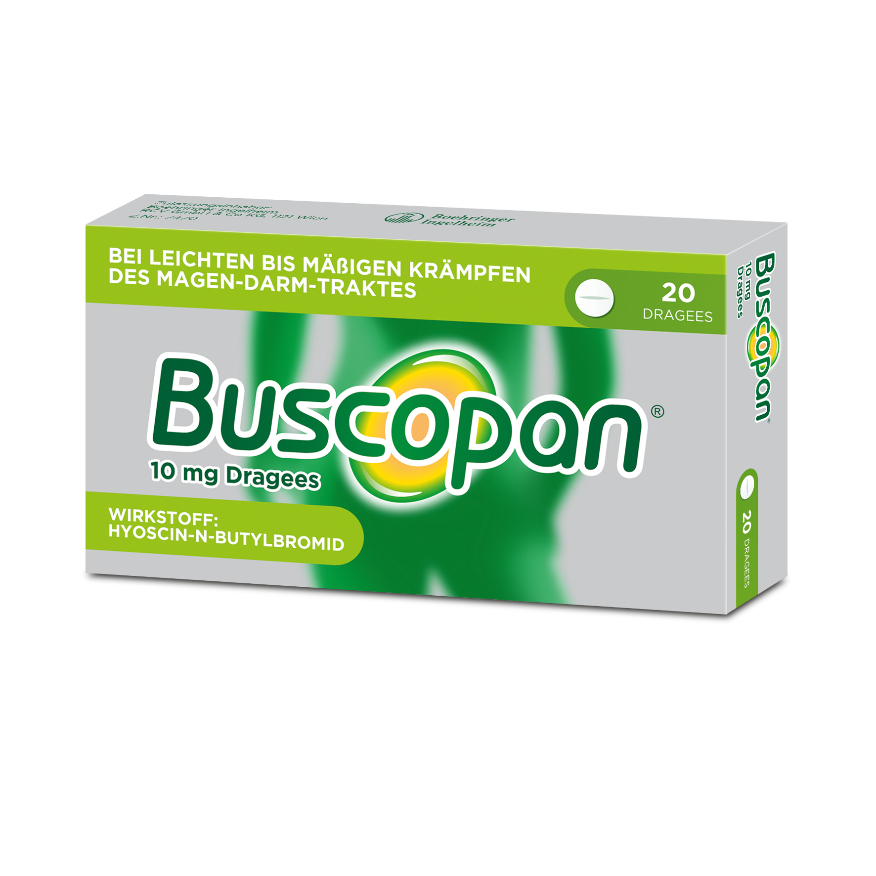 Buscopan 10 mg - Dragees