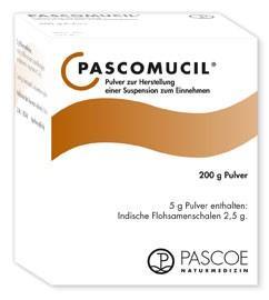 Pascomucil - Pulver zur Herstellung einer Suspension zum Einnehmen