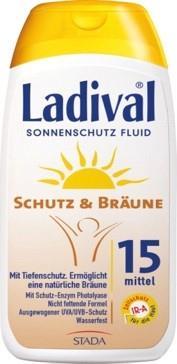 LADIVAL® Schutz & Bräune Sonnenschutz Fluid LSF 15