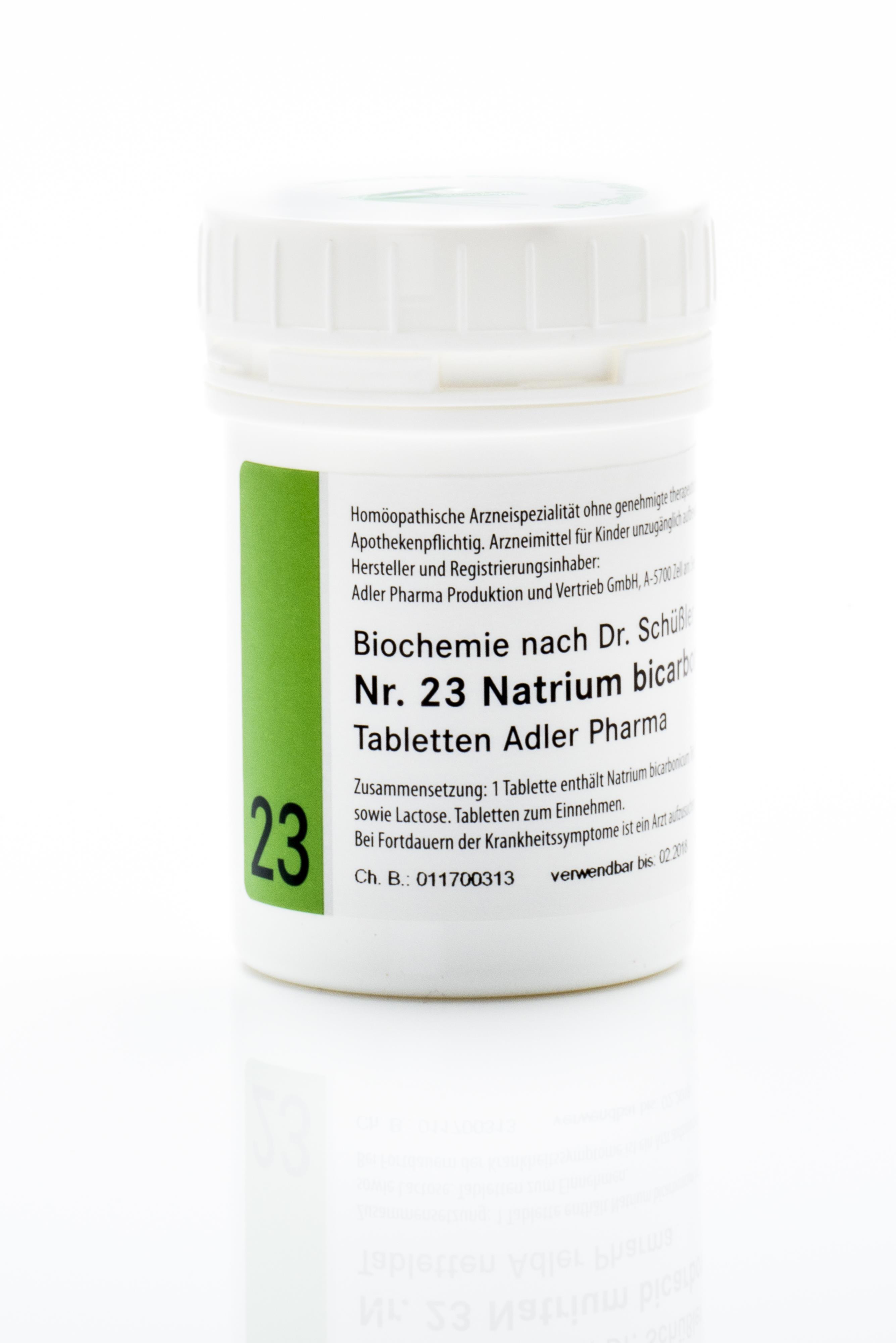Schüßler Salz Adler Nr. 23 D12 Tabletten