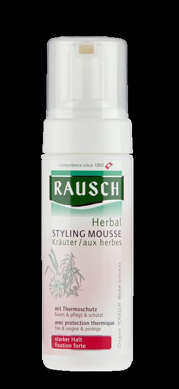 Rausch Herbal Styling Mousse starker Halt non Aerosol
