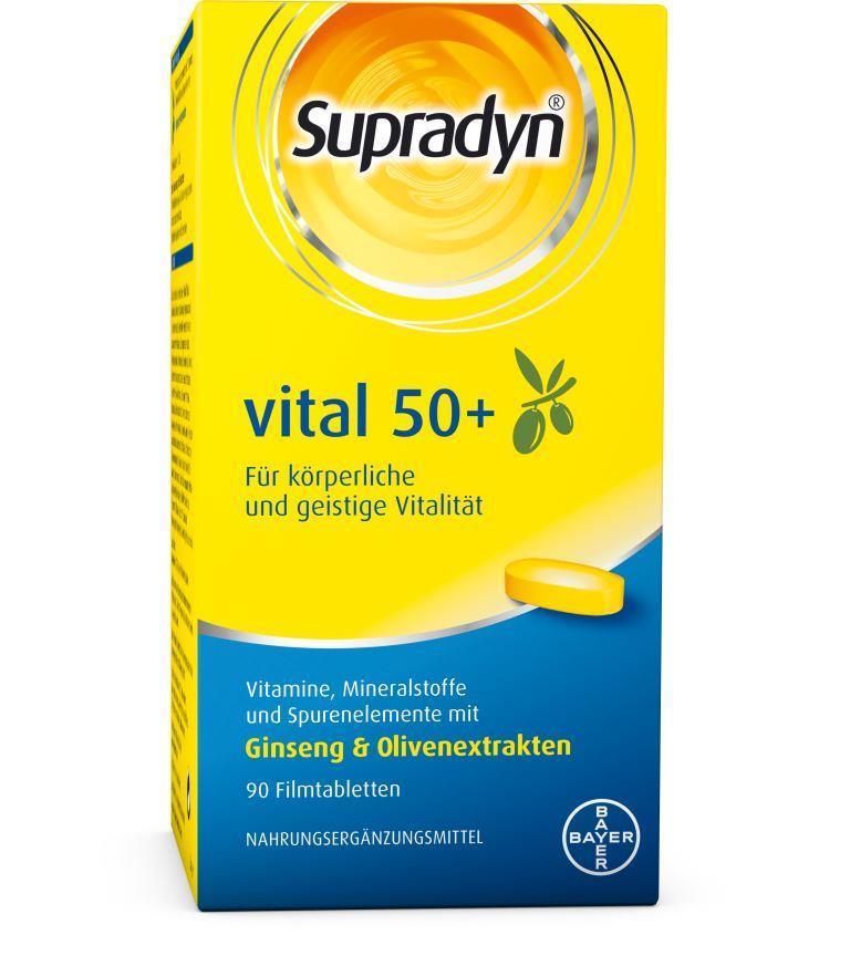 Supradyn® vital 50+ - Filmtabletten