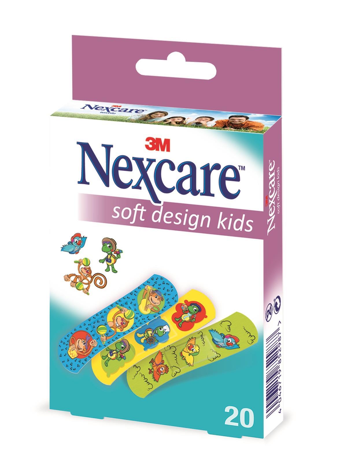 3M Nexcare Kinderpflaster Soft Kids Design