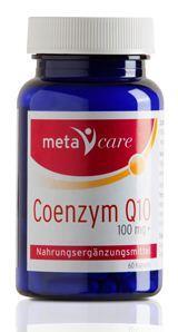 Metacare Coenzym Q10 100mg 60 Kapseln