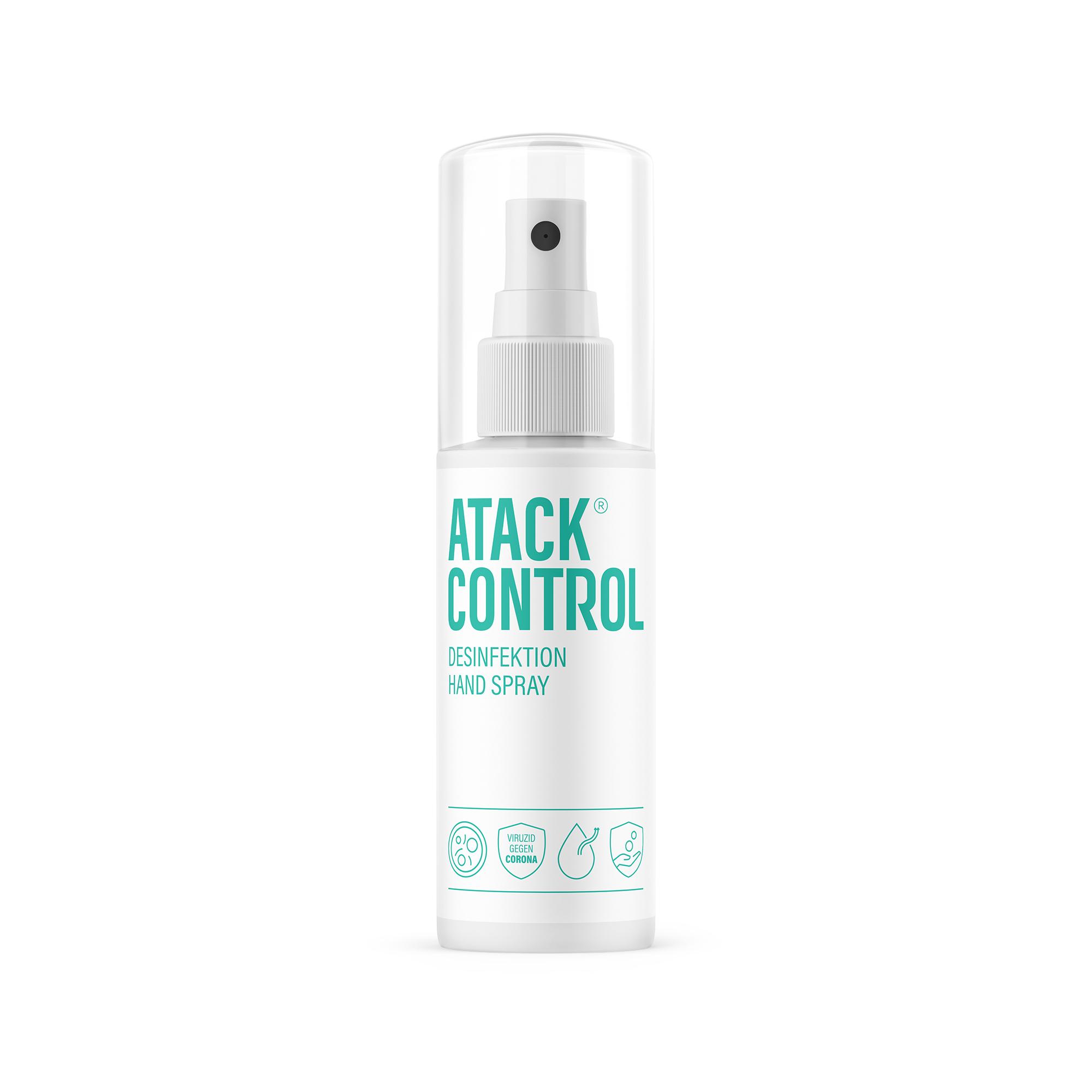 Atack Control Desinfektion Hanspray