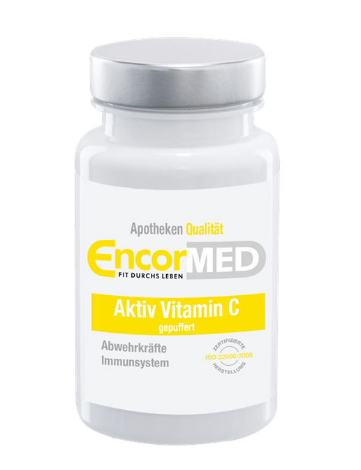 EncorMed Aktiv Vitamin C gepuffert Kapseln