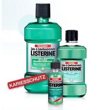Listerine Zahn- und Zahnfleischschutz Mundspüllösung
