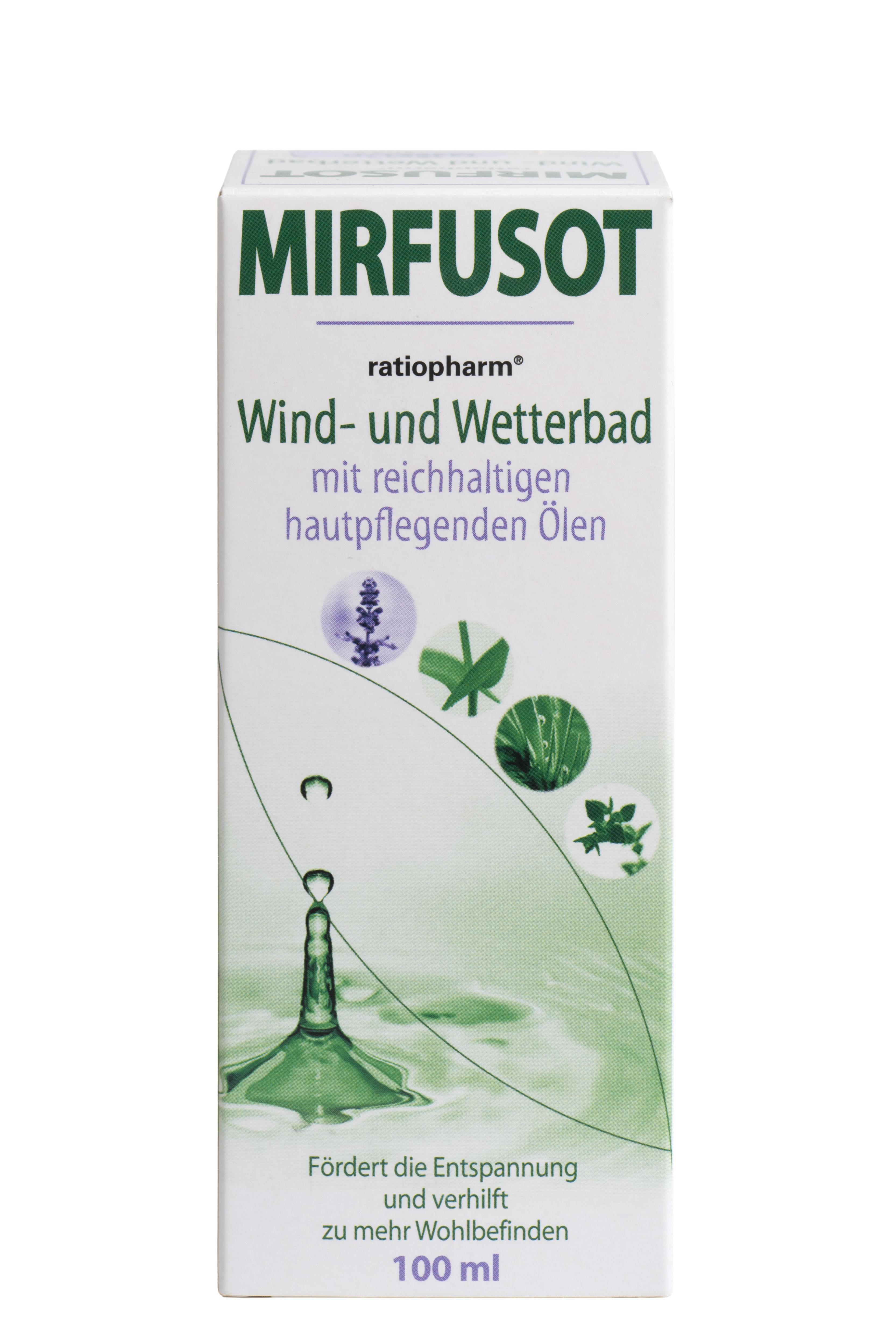 Mirfusot ratiopharm® Wind- und Wetterbad