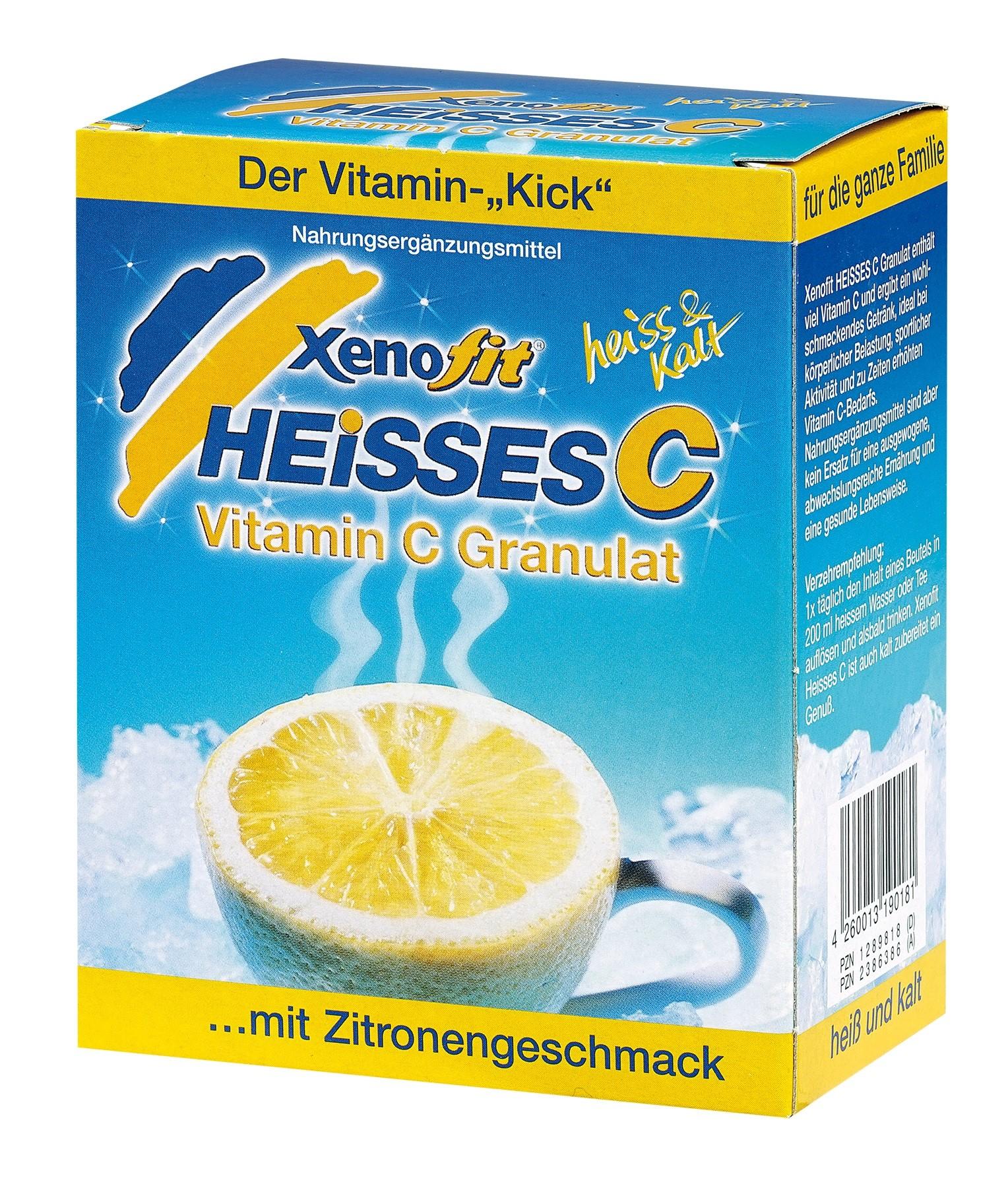 Xenofit Heisses C Zitrone Beutel