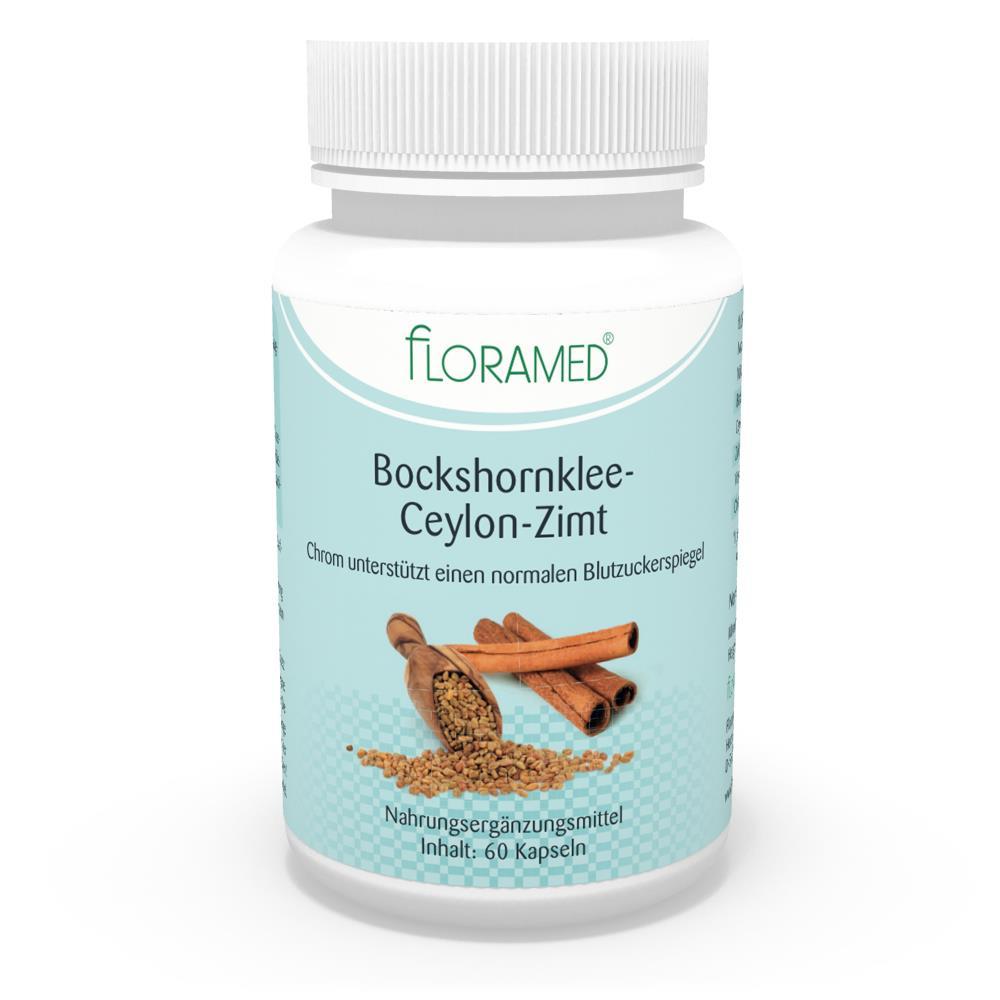 Floramed Bockshornklee-Ceylon-Zimt Kapseln
