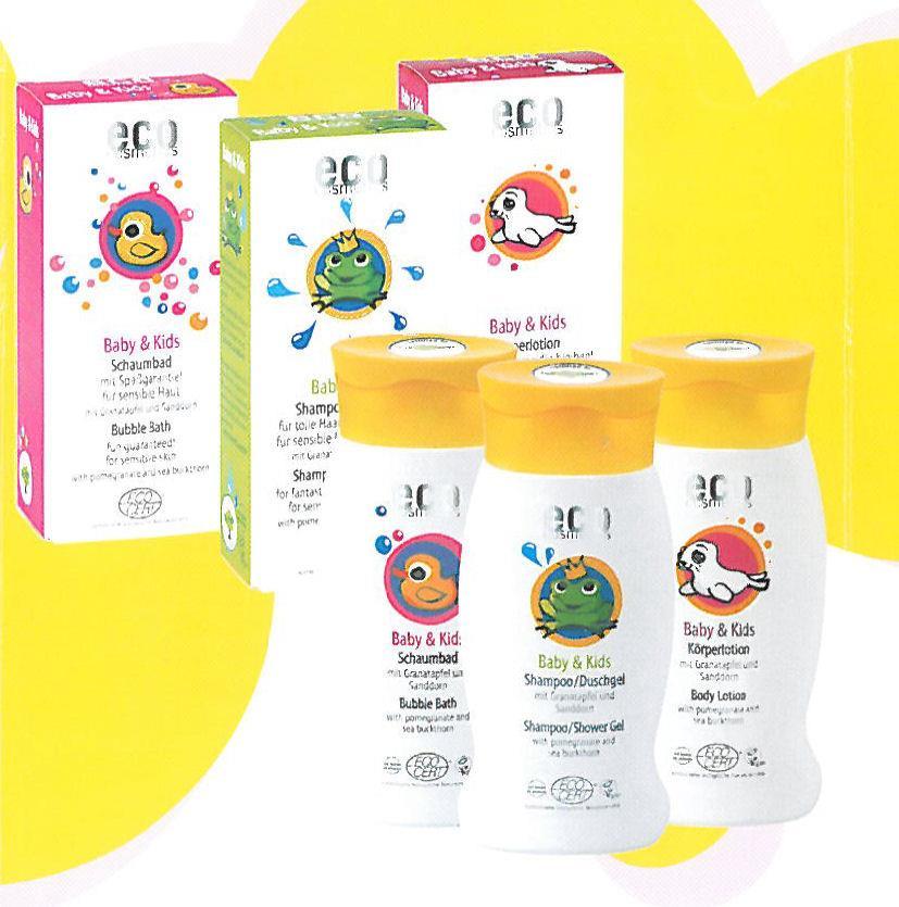 Eco Cosmetics Baby & Kids Babyshampoo 200ml