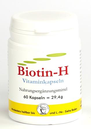 Biotin H Vitaminkapseln Canea