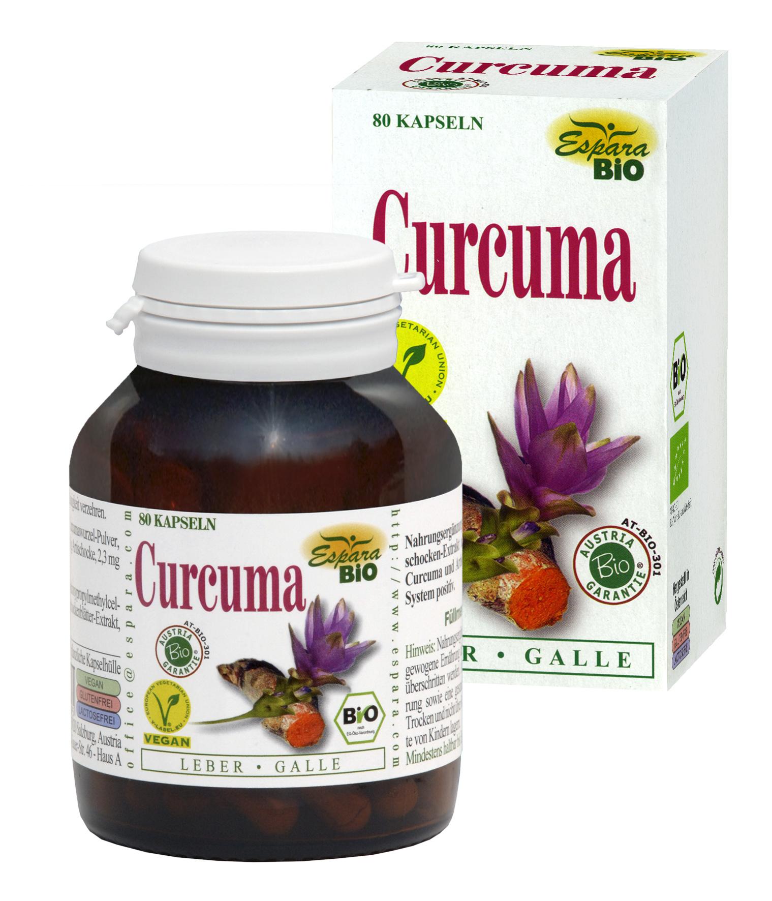 Espara Curcuma Bio Kapseln