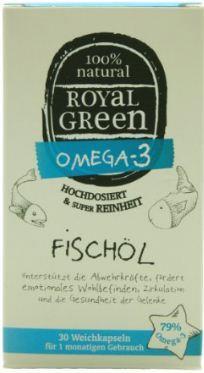 Royal Green Fischölkapseln