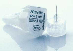 Accu-Fine Insulinpennadeln 0,25/6mm