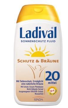 LADIVAL® Schutz & Bräune Sonnenschutz Fluid LSF 20