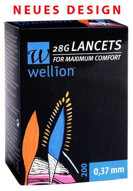 Wellion 28G Lanzetten