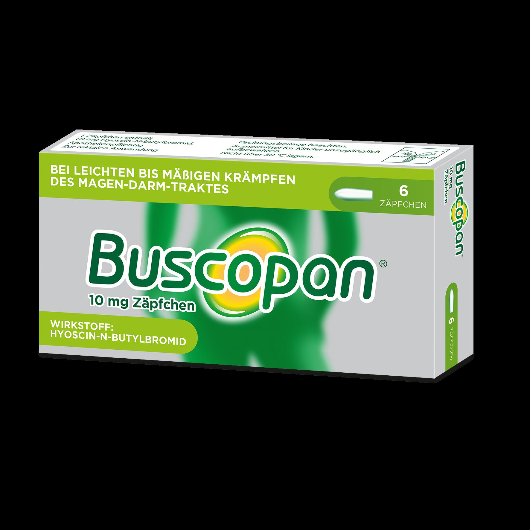 Buscopan Zäpfchen 10mg