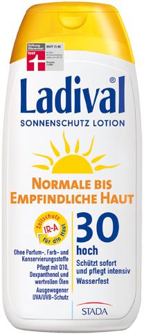 Ladival Sonnenschutzlotion empfindliche Haut SPF 10