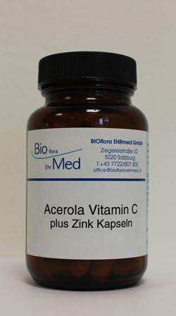 Acerola Vitamin C Kapseln Bioflora Ehrmed