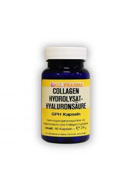 GPH Collagen Hydrolysat-Hyaluronsäure Kapseln