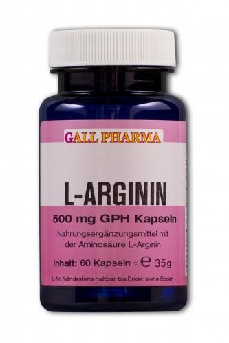 GPH L-Arginin 500mg Kapseln