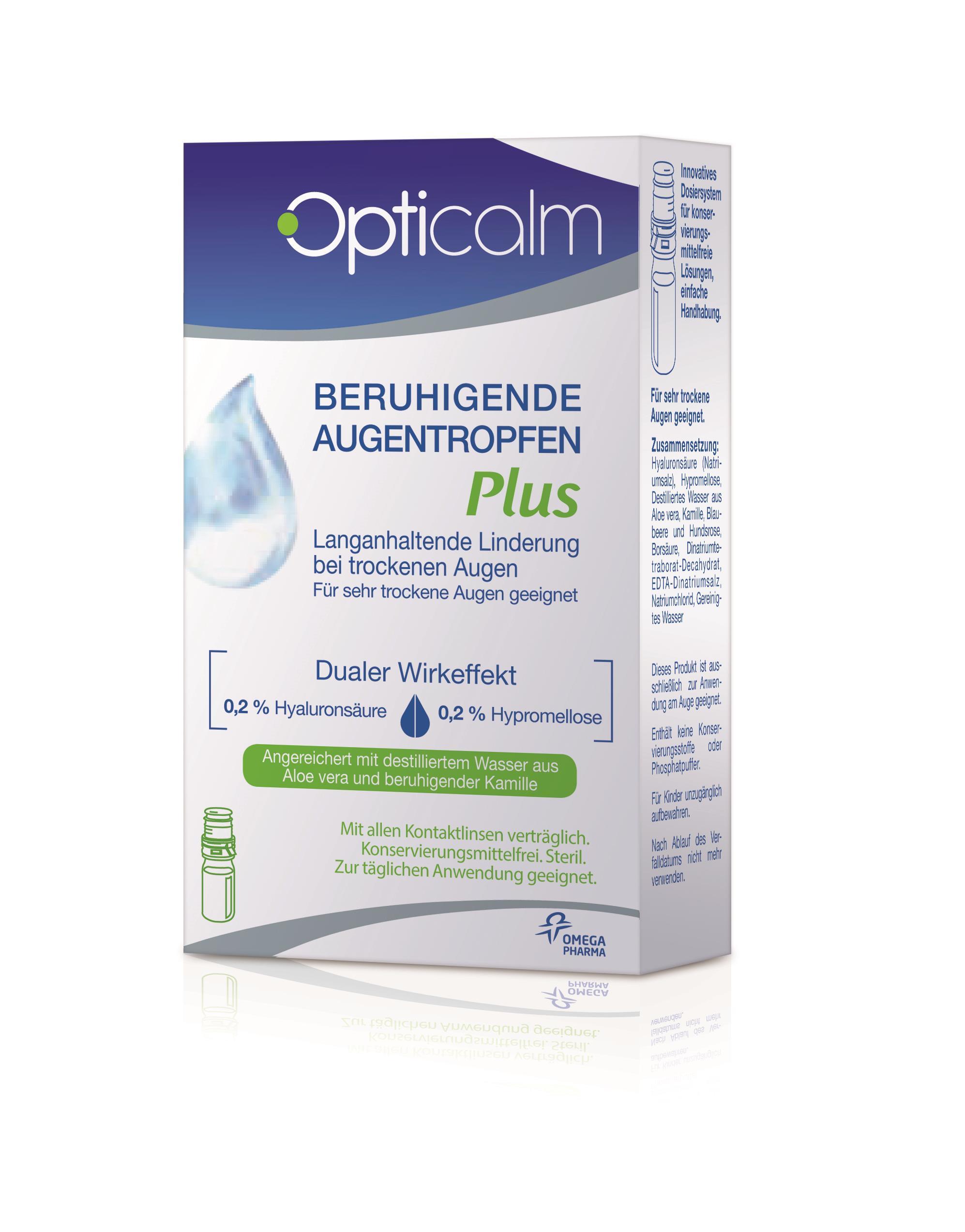 Opticalm Beruhigende Augentropfen PLUS MDO