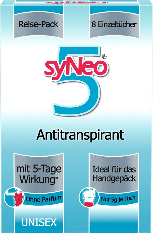 syNeo 5 Deo-Antitranspirant Reise-Packung