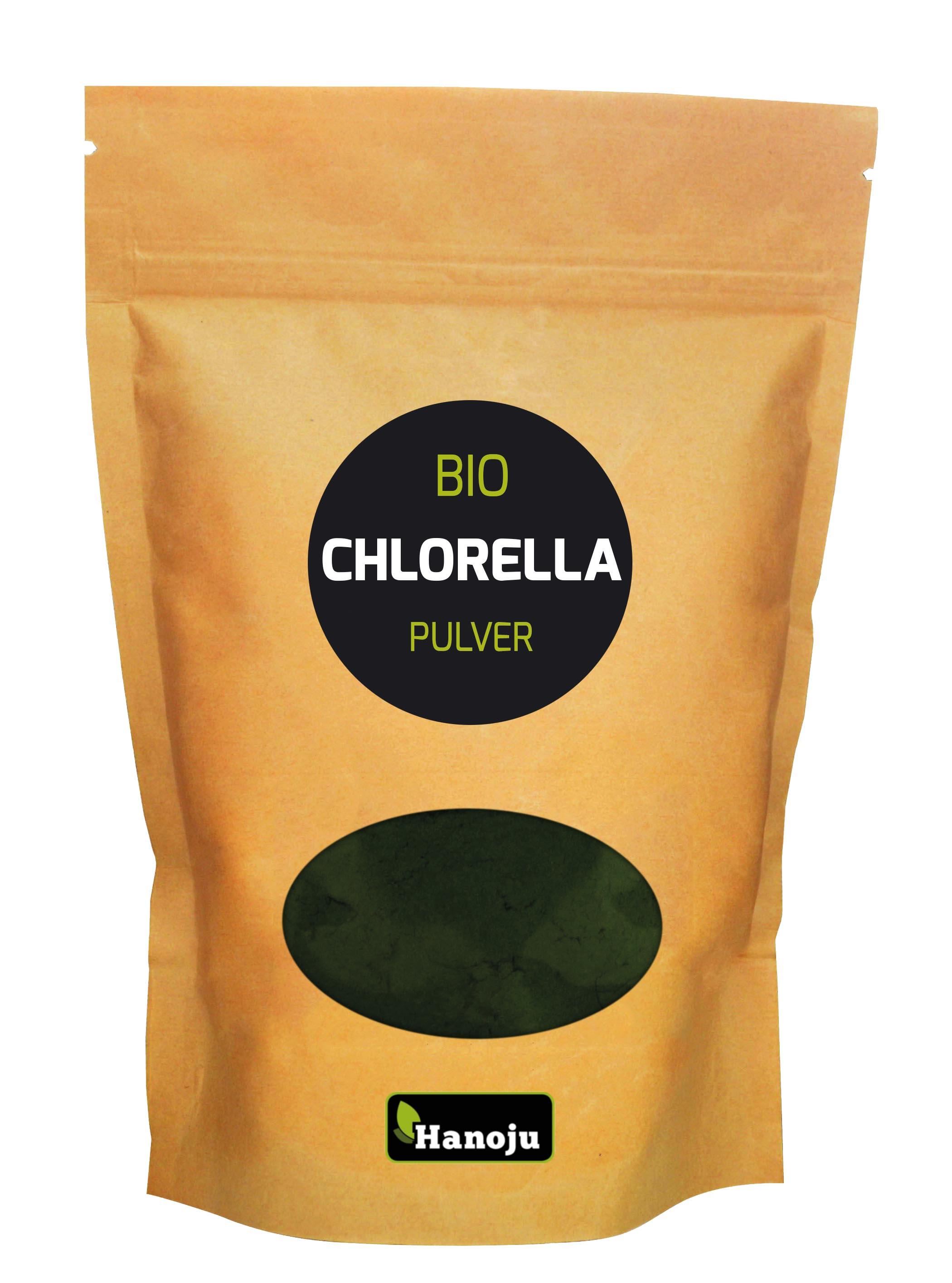 Hanoju Chlorella Pulver Bio