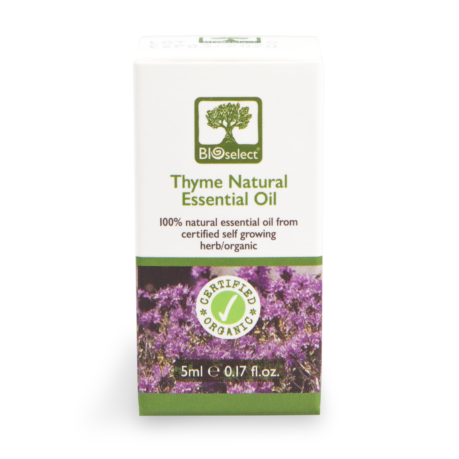 Bioselect Thyme Natural Essential Oil Certified Organic