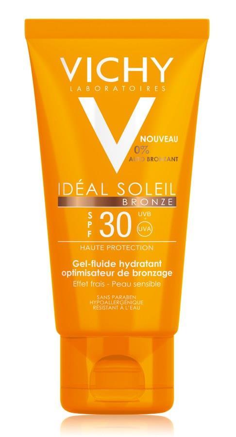 VICHY Ideal Soleil Bronze Gesicht LSF 30