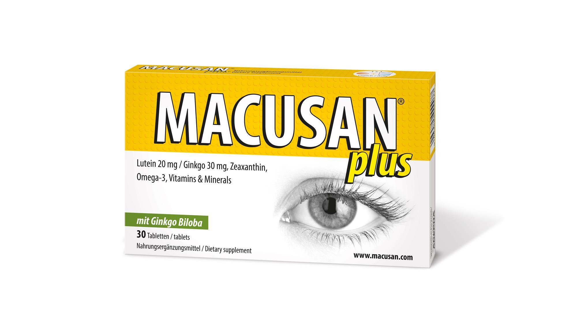 Macusan Plus Kapseln